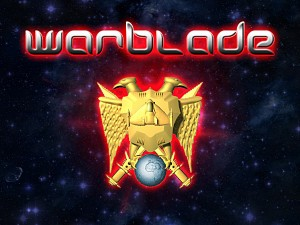 Warbladed title screen. Windows/PC